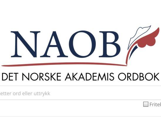 NAOB - en ordskatt på nett